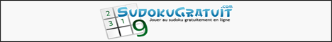 Sudoku gratuit - Jeux de réflexion gratuits
